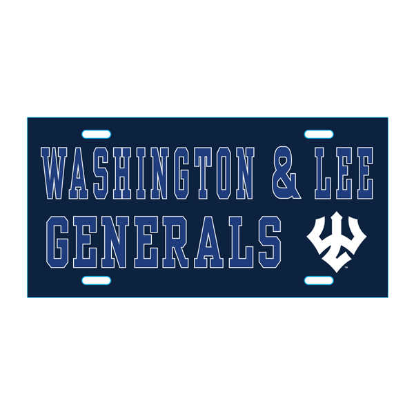 Image For Blue 84 Generals License Plate