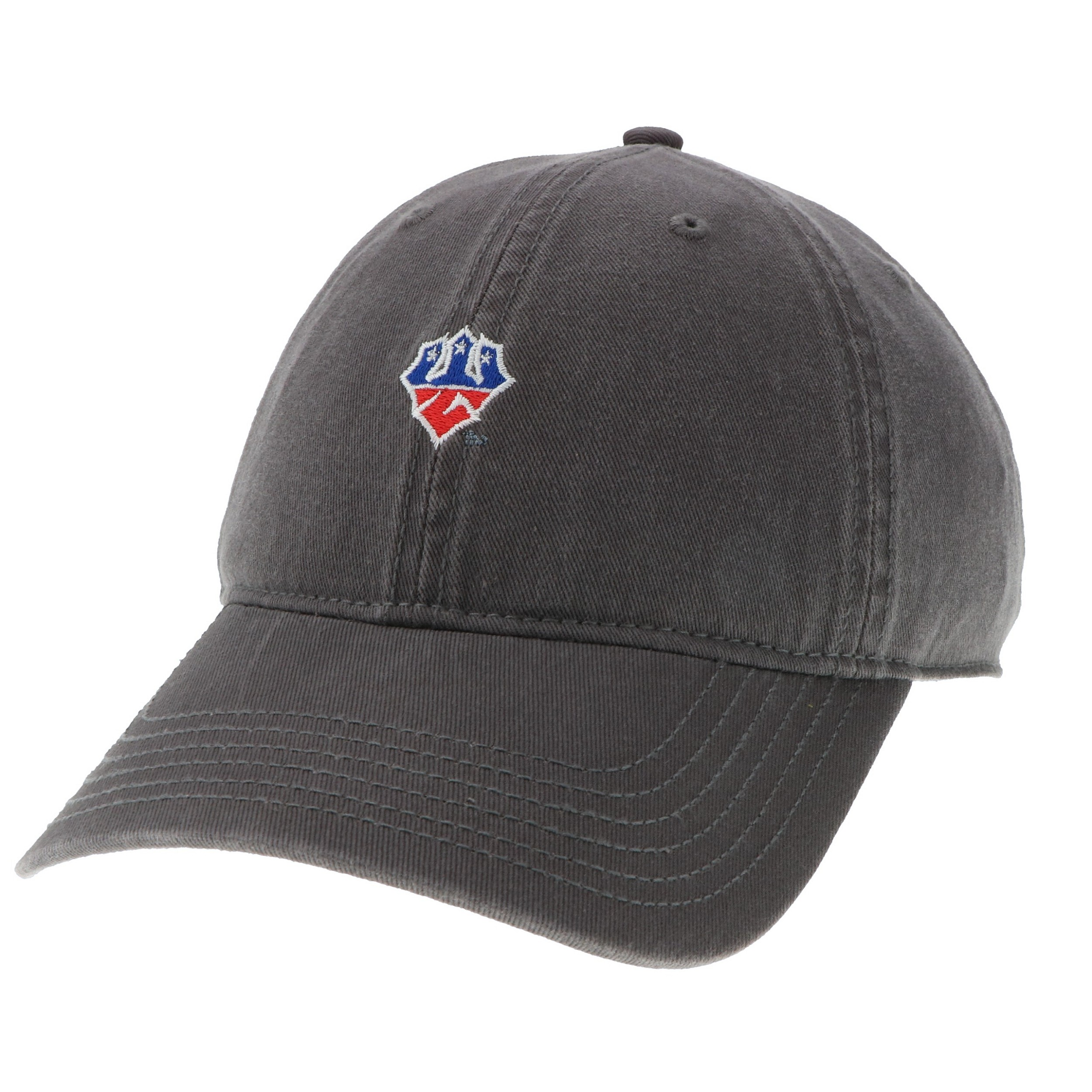 Image For Legacy Patriotic Trident Hat, Dark Grey