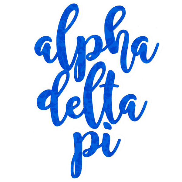 Image For Alpha Delta Pi Sticker
