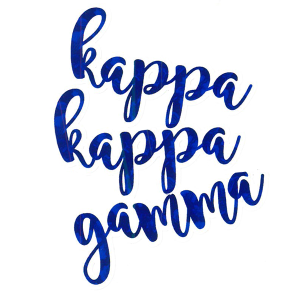 Image For Kappa Kappa Gamma Sticker