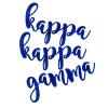 Cover Image for Kappa Kappa Gamma Tie Dye Mask