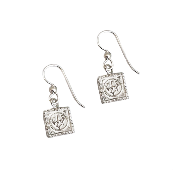 Image For Lexington Brick Mock Con Drop Earrings