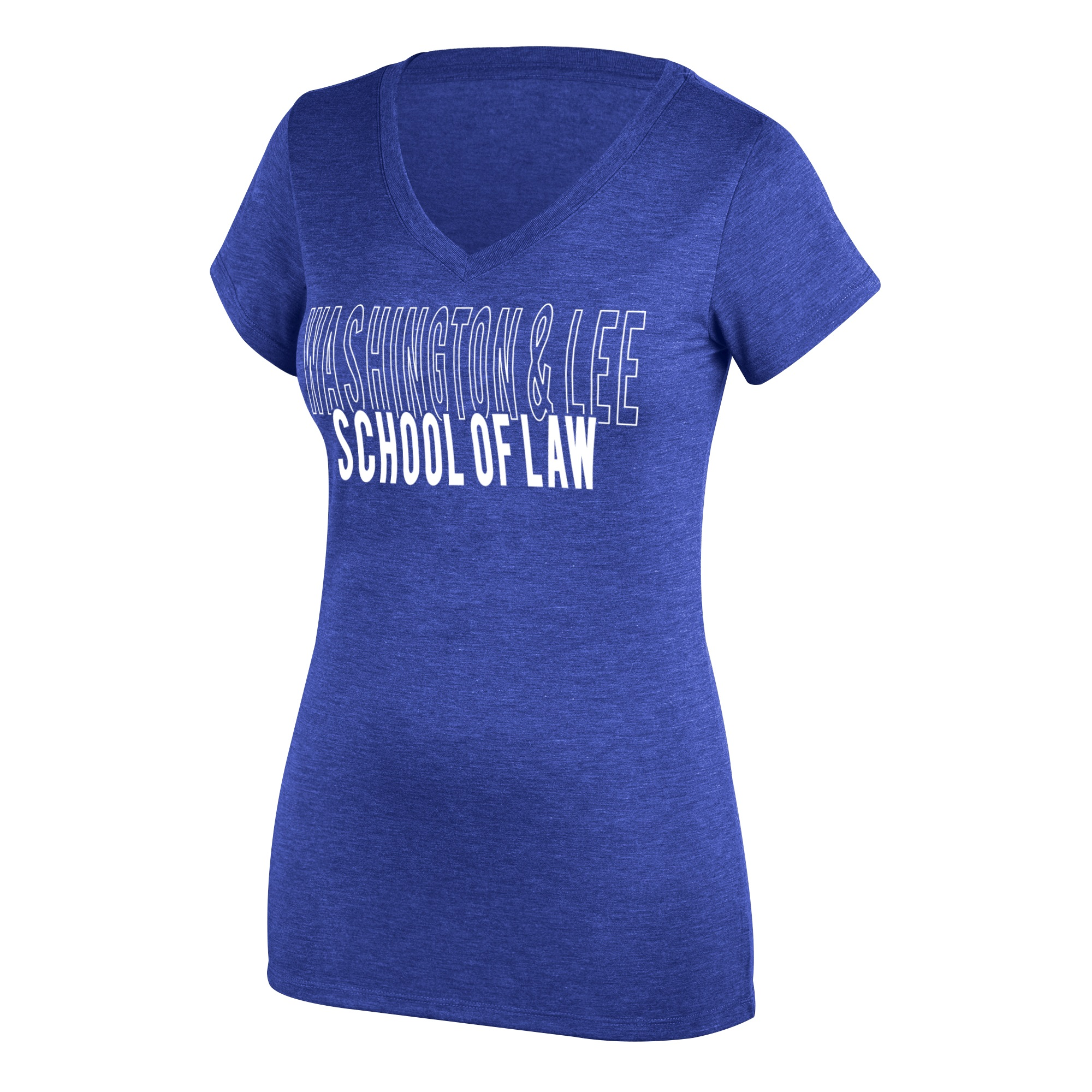 Image For Top of the World School of Law V-neck Tee