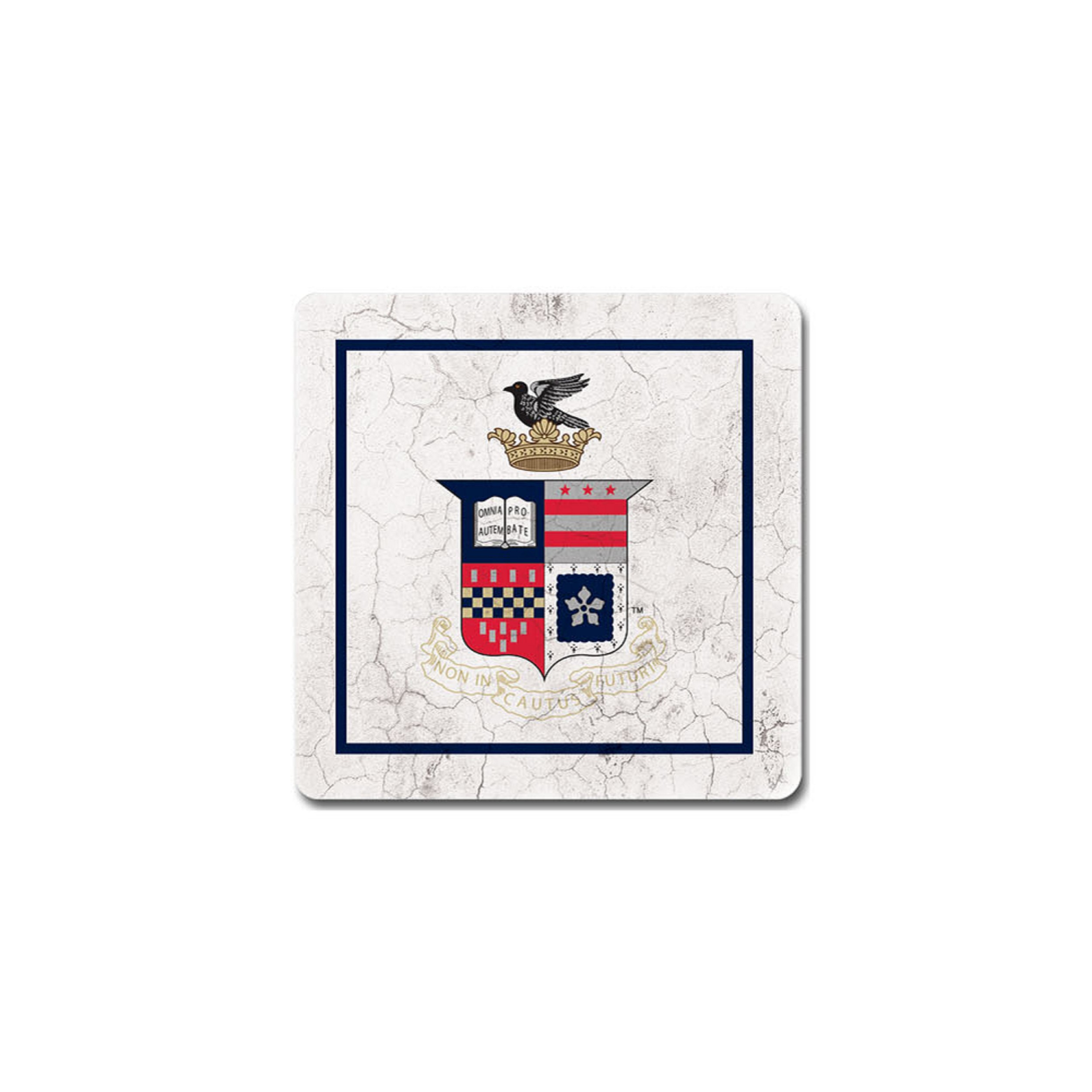 Image For Legacy University Crest Coaster, Single