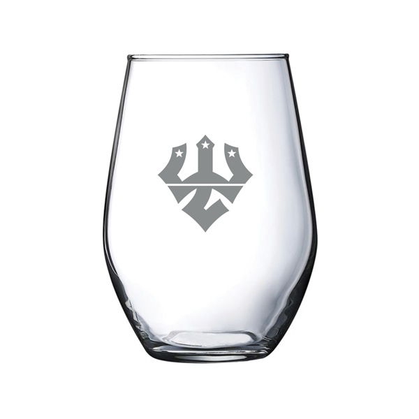 Image For Mock Con Stemless Wine Glass