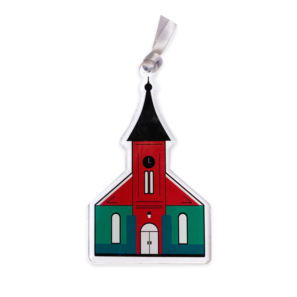 Image For Acrylic Lee Chapel Ornament