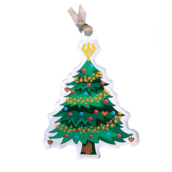 Image For Acrylic Mock Con Tree Ornament
