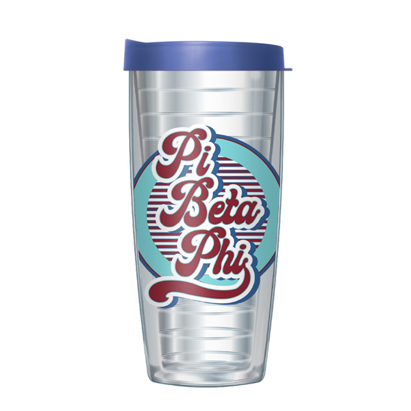 Image For Pi Beta Phi Retro Tumbler