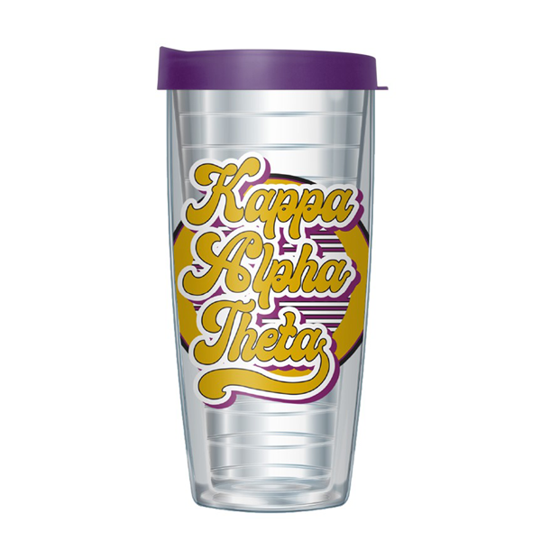 Image For Kappa Alpha Theta Retro Tumbler