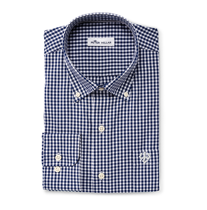 Image For Peter Millar Crown Stretch Gingham Buttondown