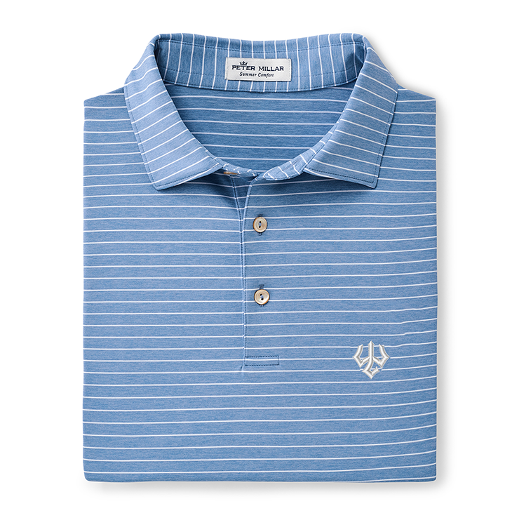 Image For Peter Millar Crown Stripe Polo