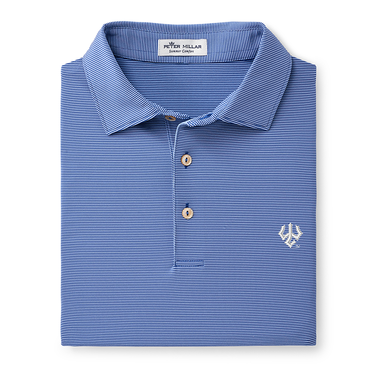 Image For Peter Millar Jubilee Stripe Performance Polo