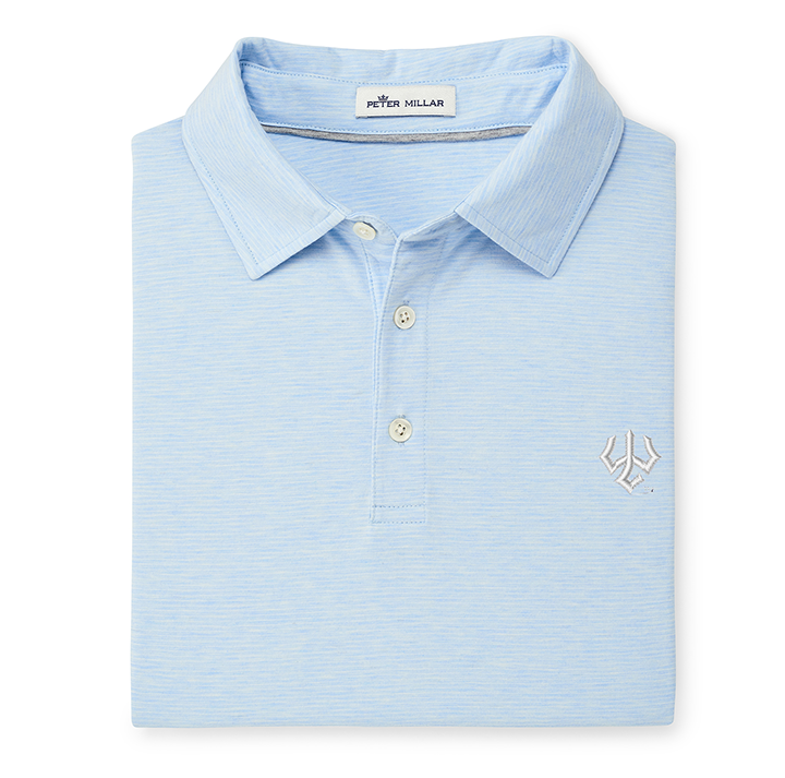 Image For Peter Millar Crown Soft Polo, Light Blue