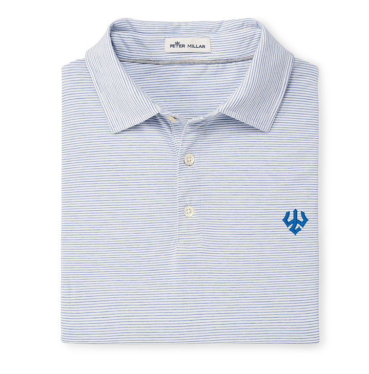 Image For Peter Millar Crown Soft Polo, White