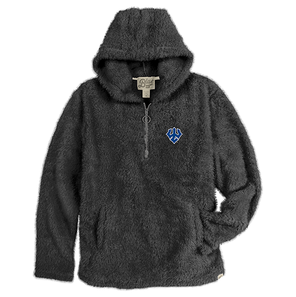 Cover Image For Blue 84 Sherpa Hooded 1/4 Zip