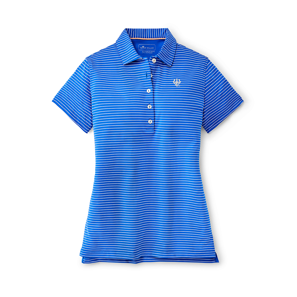 Image For Peter Millar Friday Stripe Perfect Fit Performance Polo