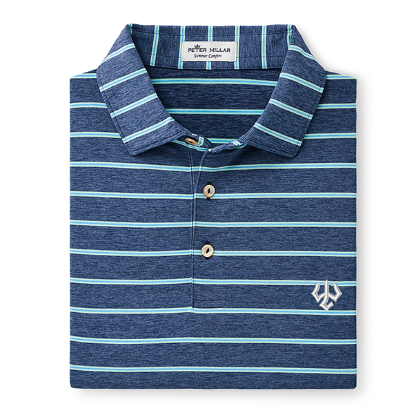 Image For Peter Millar Hanover Performance Polo