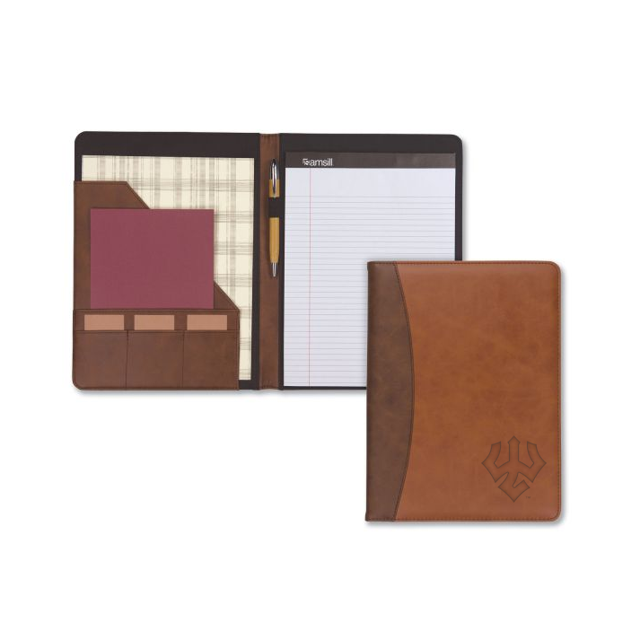 Image For Samsill Two-Tone Padfolio