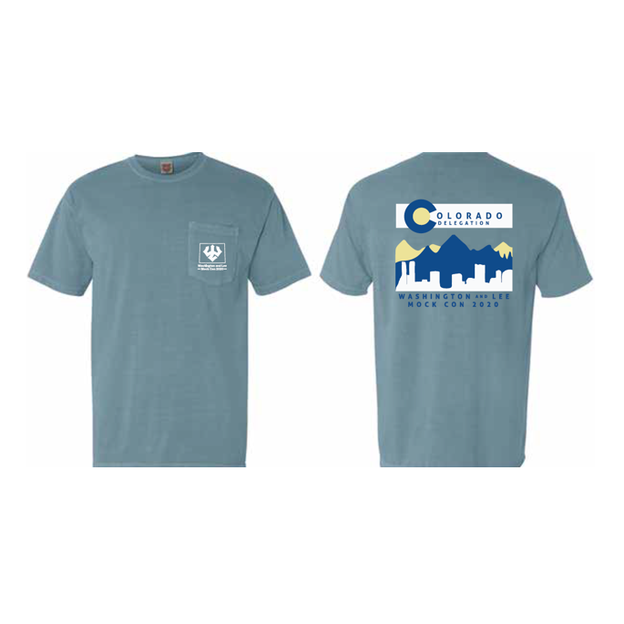 Image For Mock Con Colorado State Tee