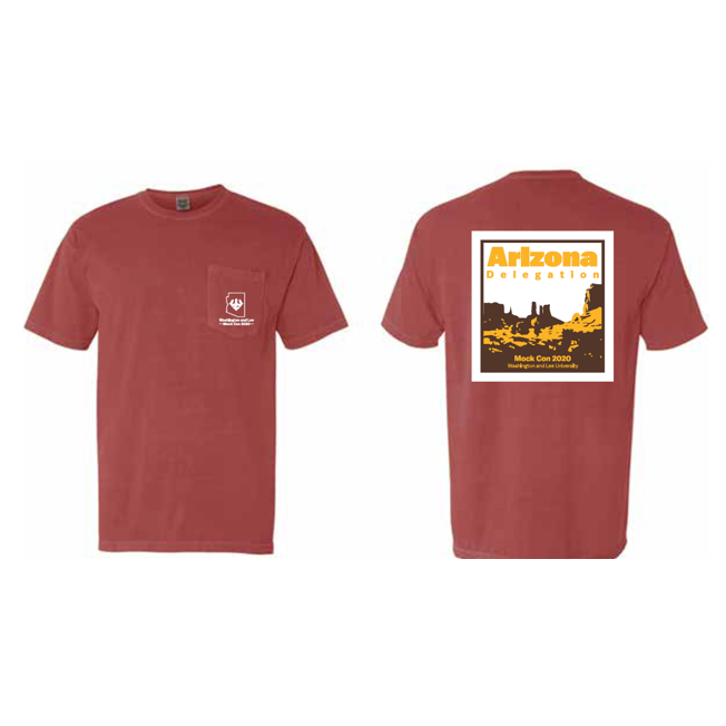 Image For Mock Con Arizona State Tee