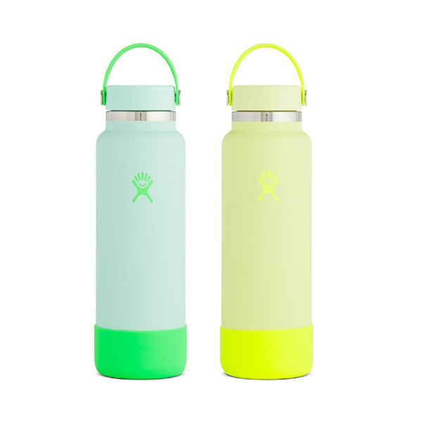 Image For Hydroflask Prism Pop Water Bottle, Green or Yellow