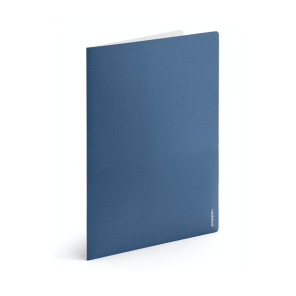 Image For Poppin 2-Pocket Poly Folder, Assorted Colors