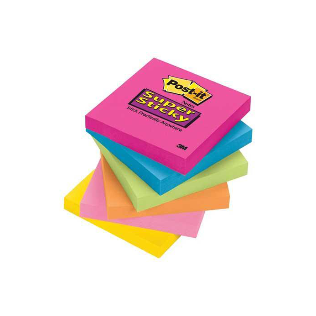 Image For Post-It Notes, Assorted Colors
