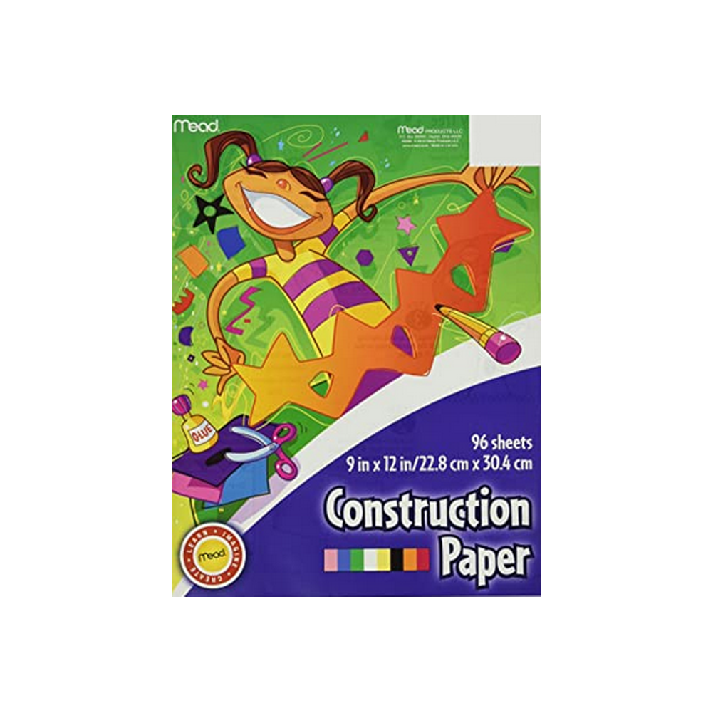Image For Mead Construction Paper