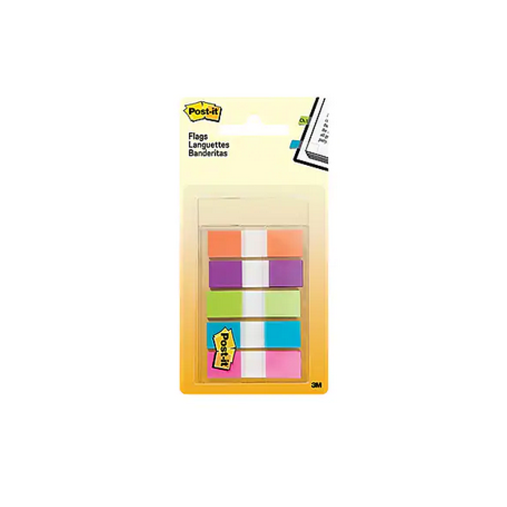 Image For Post-It Flags, Pastel Colors