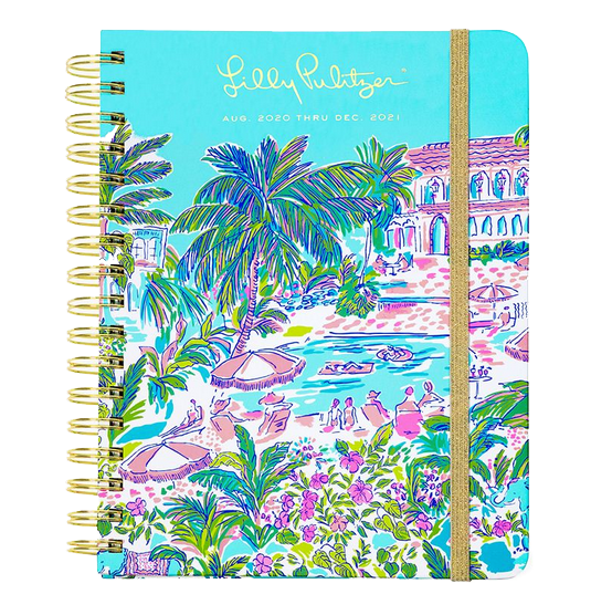 Image For Lilly Pulitzer Island Hopping Planner, Large