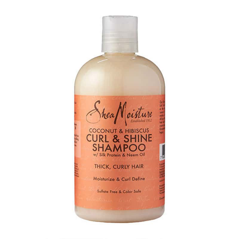 Image For Shea Moisture Curl and Shine Shampoo
