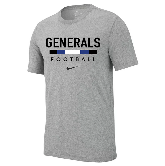 Image For Nike Dri-Fit Football Cotton Tee