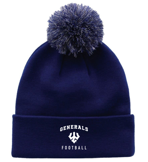 Image For Football Pom Hat