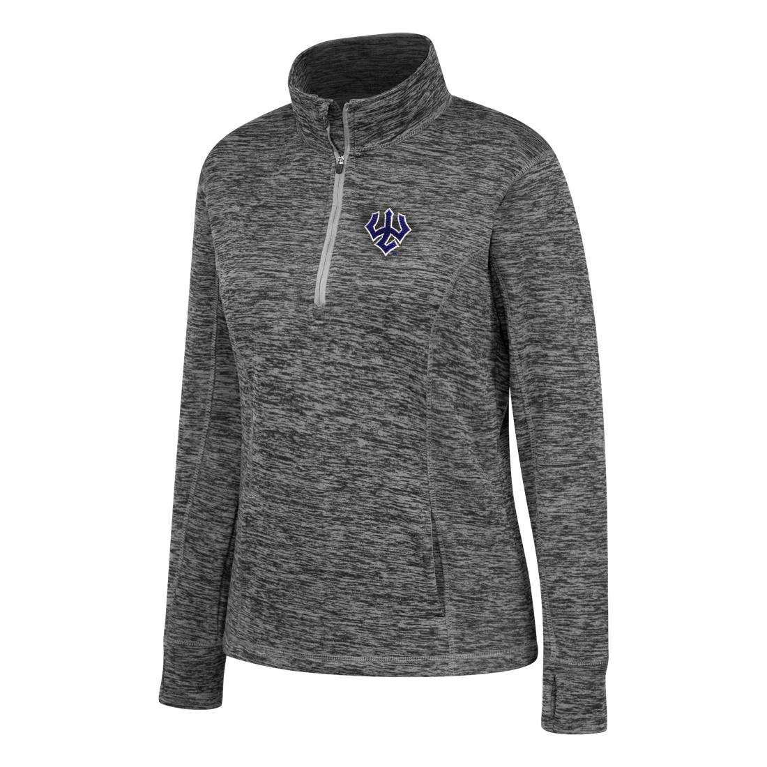 Image For Top of the World Contrast 1/4 Zip