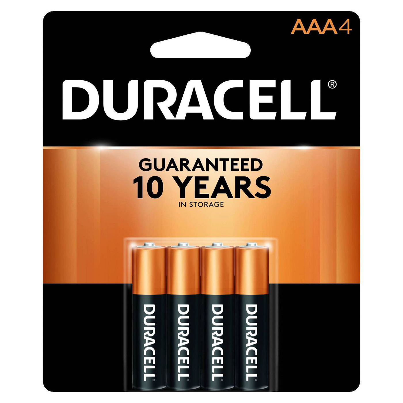 Image For Duracell AAA 4-pack