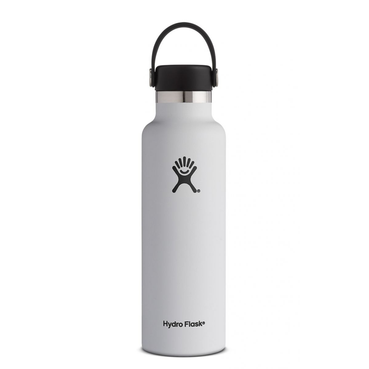Image For Hydroflask Insulated Water Bottle, White