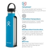 Cover Image for Hydroflask Insulated Water Bottle, White
