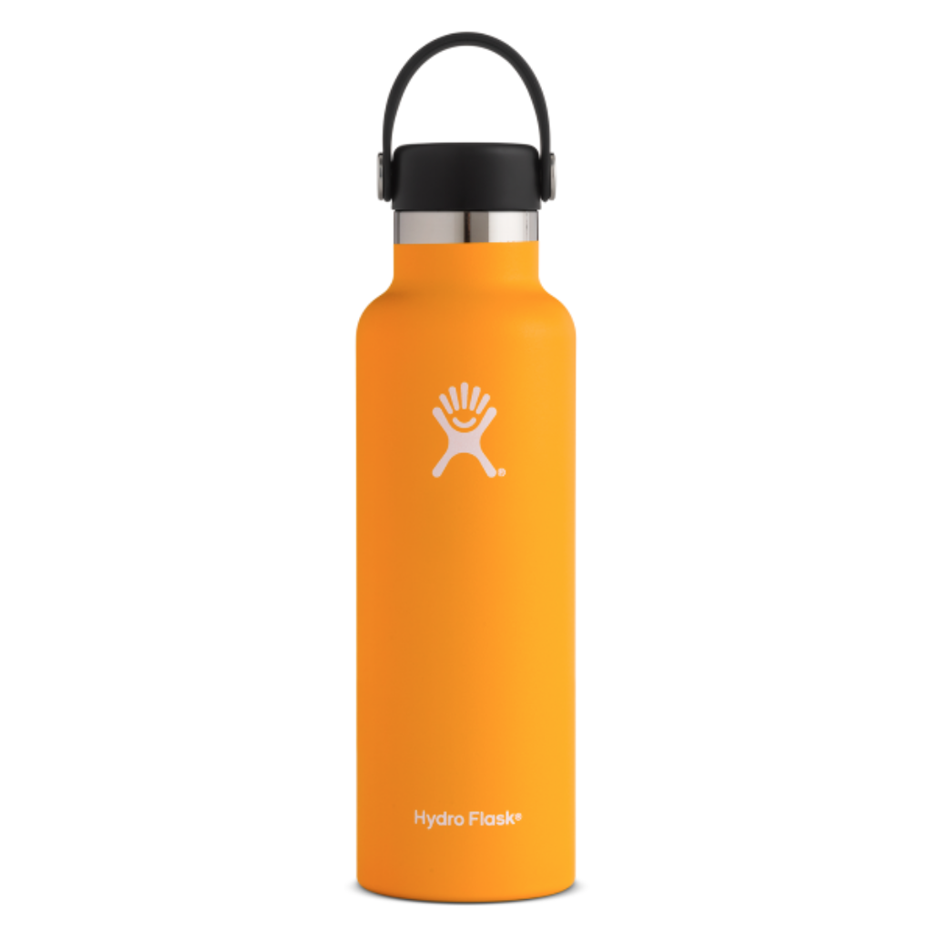 Image For Hydroflask Insulated Water Bottle, Orange Zest