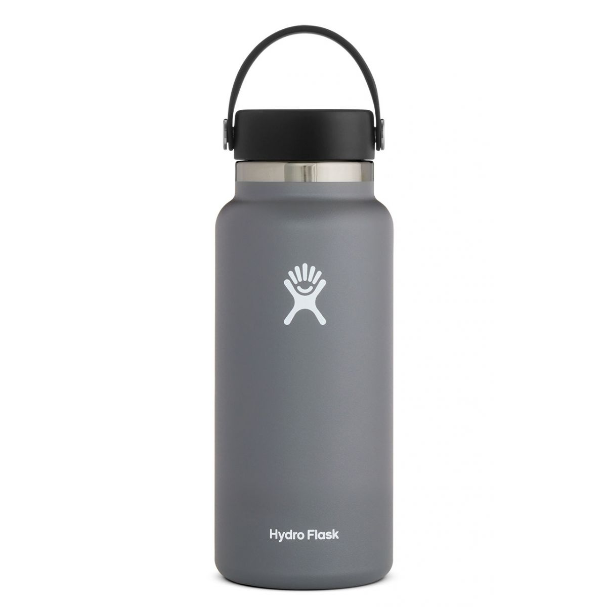 Image For Hydroflask Insulated Wide Mouth Water Bottle, Stone