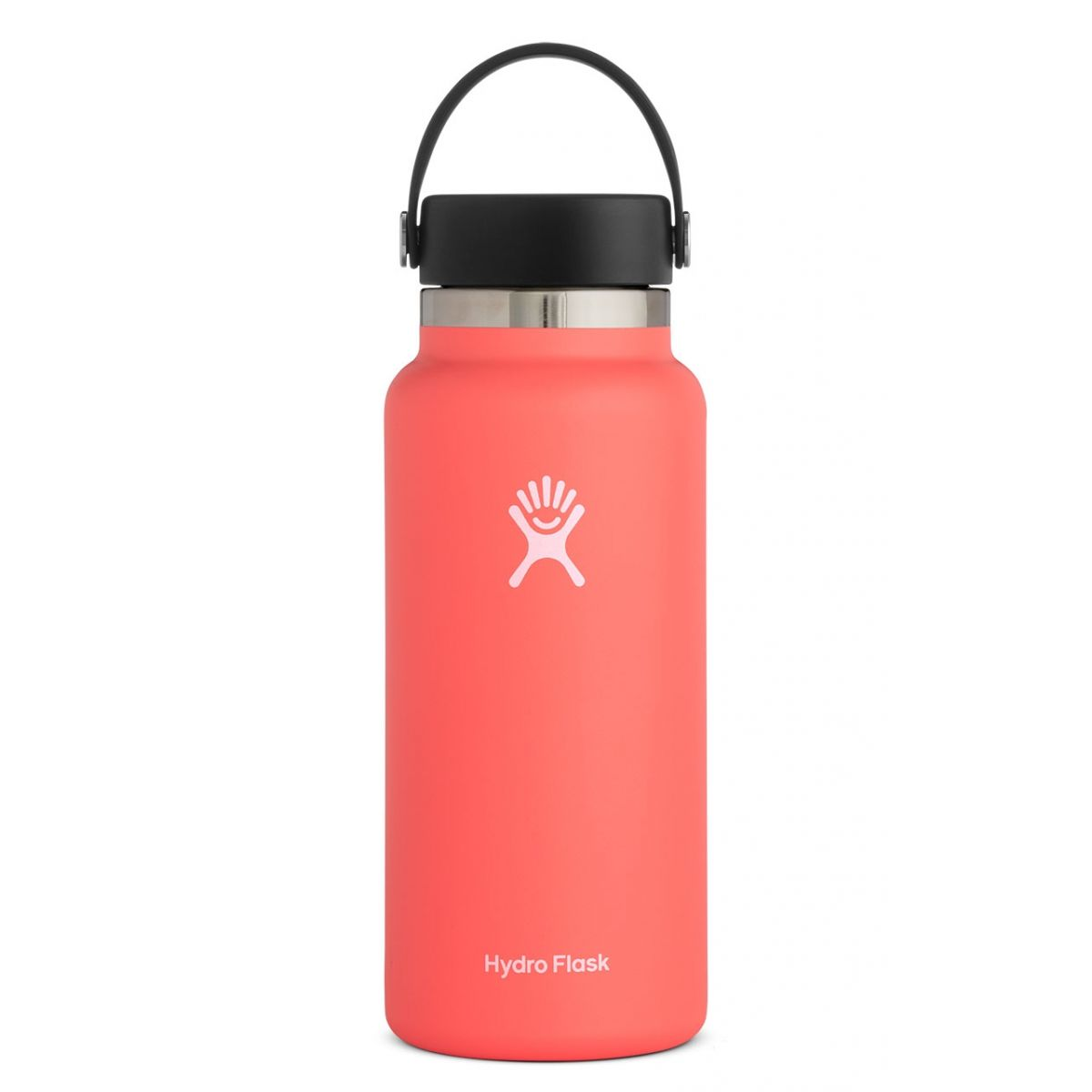 Cover Image For Hydroflask Insulated Wide Mouth Water Bottle, Hibiscus
