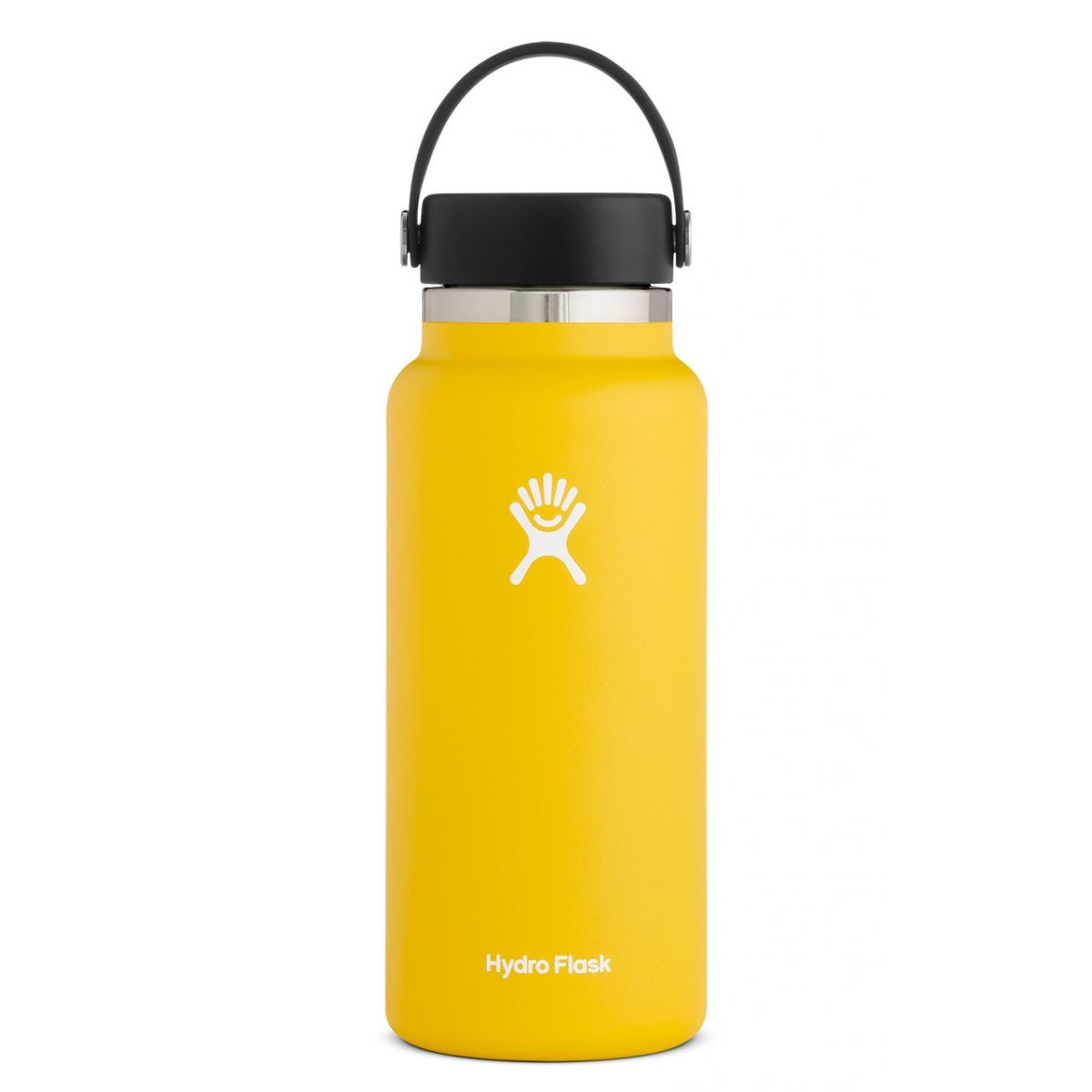 Image For Hydroflask Insulated Wide Mouth Water Bottle, Sunflower