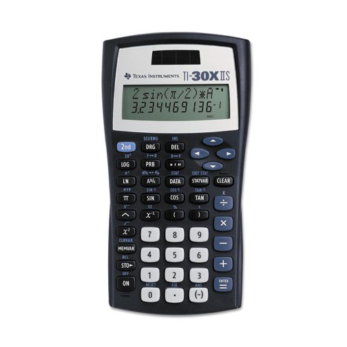 Image For TI-30X IIS Scientific Calculator