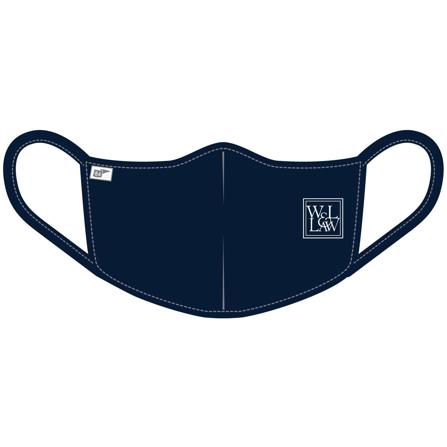 Image For Blue 84 Law Mask, Navy