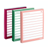 """Cover Image for Samsill 1"""" Basic Insertable Binder, Pink"""
