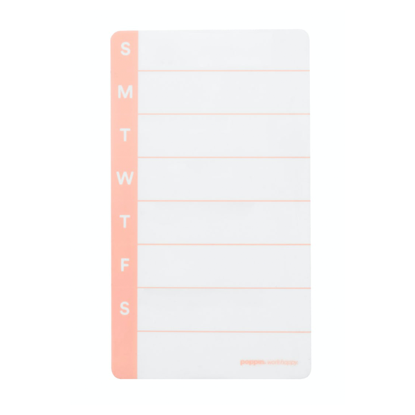 Image For Poppin Peel and Stick Weekly Planner