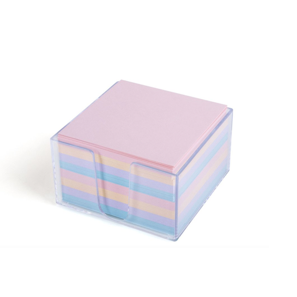 Image For Mintra Memo Cube, Pastel