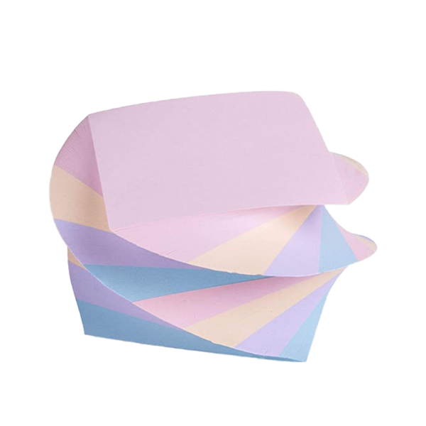 Image For Mintra Twirl Memo Pad, Pastel