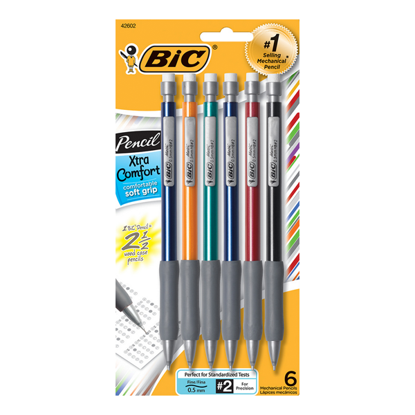 Image For BIC Xtra Comfort Mechanical Pencil, Fine Point