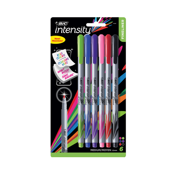 Image For BIC Intensity Marker Pens
