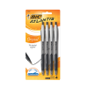 Cover Image for BIC Xtra Comfort Black Pen, 8 Pack